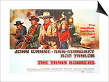 The Train Robbers, Rod Taylor, Ben Johnson, John Wayne, Ann-Margret, 1973 Art