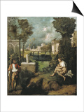The Tempest Prints by  Giorgione