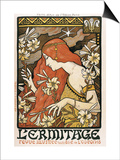L'Ermitage Poster by Paul Berthon