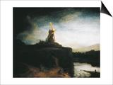 The Mill Prints by  Rembrandt van Rijn