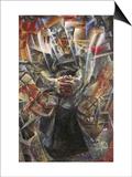Materia Poster by Umberto Boccioni