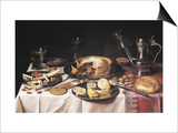 Still Life Print by Pieter Claesz