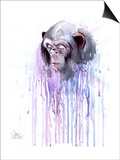 Monkey 7 Prints by Lora Zombie