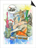 Tank Girl Posters by Lora Zombie