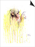Monkey 11 Prints by Lora Zombie