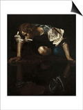 Narcissus Posters by  Caravaggio