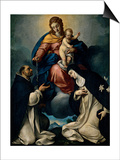 Our Lady of the Rosary Prints by Carlo Ceresa