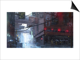 Japan Rain Prints by Stephane Belin