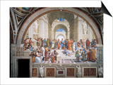 School of Athens Art by  Raphael
