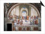 School of Athens Art by  Raphael