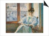 Mrs. Massimino Prints by Umberto Boccioni