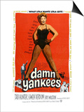 Damn Yankees, Ray Walston, Gwen Verdon, Tab Hunter, 1958 Print