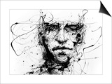 Lines Hold The Memories Poster by Agnes Cecile