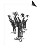 Band of Crows Posters by Lora Zombie