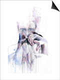 Gestures Posters by Agnes Cecile