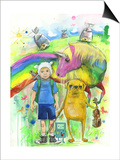 Adventure Time Prints by Lora Zombie