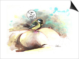 Great Tit Prints by Lora Zombie