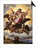 Vision of Ezekiel Prints by  Raphael