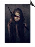 Howl Poster af Charlie Bowater