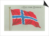 Alt for Norge, Norwegian Flag Posters