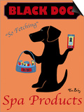 Black Dog Spa Posters by Ken Bailey