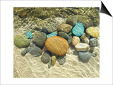 Beach Stones Posters by Mark Goodall