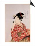 Beauty Prints by Kitagawa Utamaro