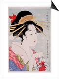 Beauty Posters by Kitagawa Utamaro