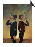 The Duel Print by Aaron Jasinski