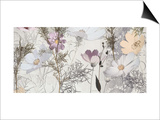 Lacey Petals 2 Prints by Matina Theodosiou