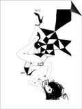 Falling Posters by Manuel Rebollo