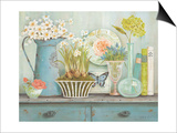 Vintage Collectables Print by Kathryn White