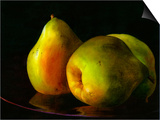 Three Pears Prints by Terri Hill