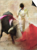 San Miguel, Bullfight No.2 Posters by Doug Landreth