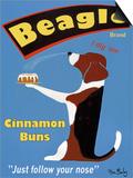 Beagle Buns Prints by Ken Bailey