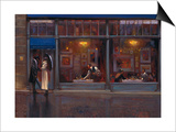 Fifth Avenue Cafe 1 Prints by Brent Lynch