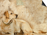 A Dog's Story 3 Print by Elizabeth Hope