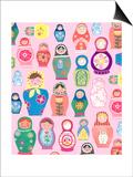 Happy Nesting Dolls Posters