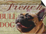 French Bulldog Poster by Wendy Presseisen
