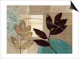 Leaf Kaleidescope 1 Art by Matina Theodosiou