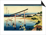 36 Views of Mount Fuji, no. 33: The Bay of Noboto Posters by Katsushika Hokusai