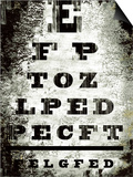 Eyechart Prints by Tracy Hiner