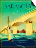 Sarasota Print by Stella Bradley