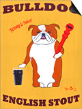 English Bulldog 2 Posters by Ken Bailey