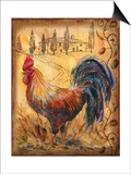 Tuscan Rooster II Print by Todd Williams