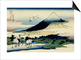 36 Views of Mount Fuji, no. 14: Umegawa in Sagami Province Prints by Katsushika Hokusai