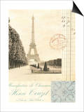 Paris Early Dawn Posters by Cristin Atria