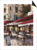 Avenue des Champs-Elysees 2 Print by Brent Heighton