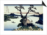 36 Views of Mount Fuji, no. 17: Lake Suwa in the Shinano Province Posters by Katsushika Hokusai