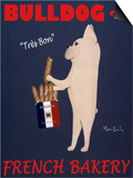 French Bulldog Bakery Posters by Ken Bailey